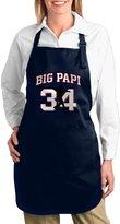 K7UMHome K7UM Bib Aprons Boston Big Papi Baseball Kitchen Apron With Pockets