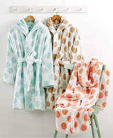 Martha Stewart Collection CLOSEOUT! Martha Stewart Collection Dot Robe, Created for Macy's