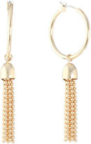 Liz Claiborne Yellow Hoop Earrings