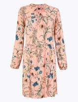 Marks and Spencer Floral Print Relaxed Dress