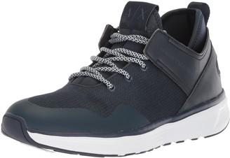 Armani Exchange A|X Men's Mid Cut Lace Up Sneaker