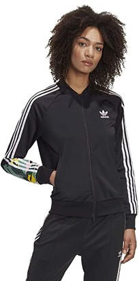 adidas Wild Flower Track Top (Black) Women's Coat
