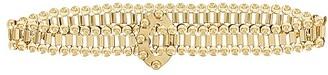 Lele Sadoughi Coin Chain Belt
