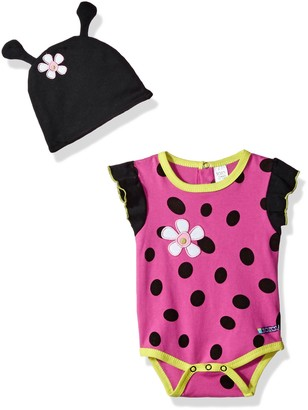 Sozo Ladybug Bodysuit and Cap Set