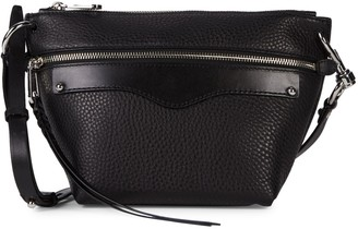 Rebecca Minkoff Mini Hayden Leather Crossbody Bag