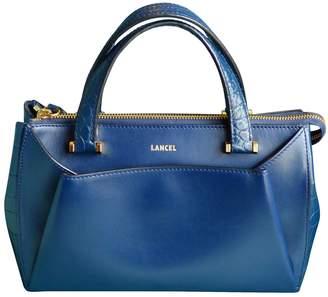 Lancel Lison Blue Leather Handbags