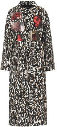 Raf Simons Printed trench coat