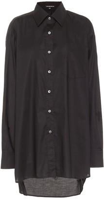 Ann Demeulemeester Oversized cotton shirt