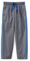 Classic Little Boys Mesh Lined Track Pants-Light Graphite