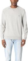 MAISON KITSUNÉ Tricolor Fox Patch Sweatshirt