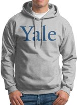 Sarah Men's Yale University Logo Hoodie S