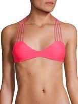 Mikoh Swimwear Banyans Strappy Bikini Top