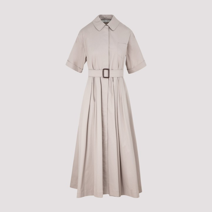 S Max Mara 'S Max Mara Sasia Belted Shirt Dress