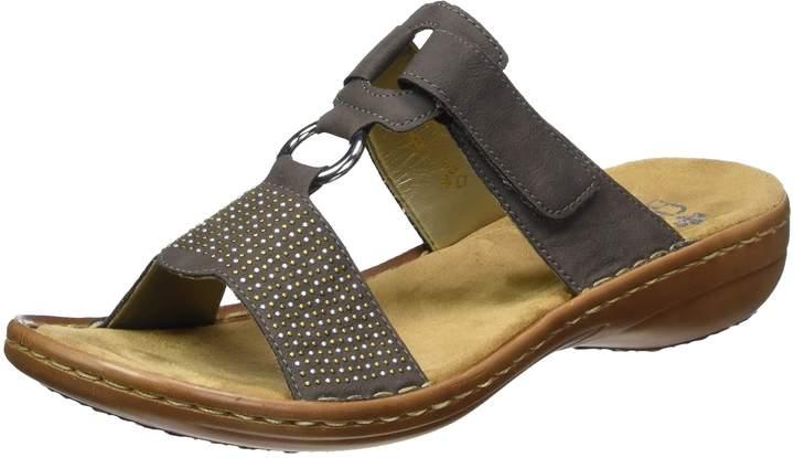 Details zu Rieker Schuhe Damen Sabot, auch für lose Einlagen