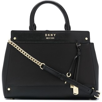 DKNY Thelma leather tote bag