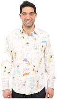 Robert Graham Limited Edition Get Well Sport Shirt