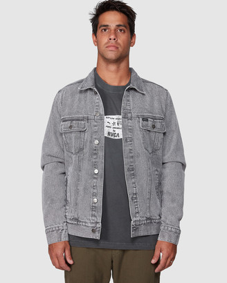 RVCA Daggers Denim Stripe Jacket