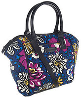 Vera Bradley As Is Vera Bradely Signature Print Trimmed Satchel
