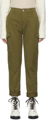 Rag & Bone Khaki Buckley Chino Cargo Trousers