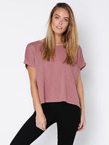 Nude Lucy New Womens Harper Oversized T Shirt In Rose Tops & T Shirts