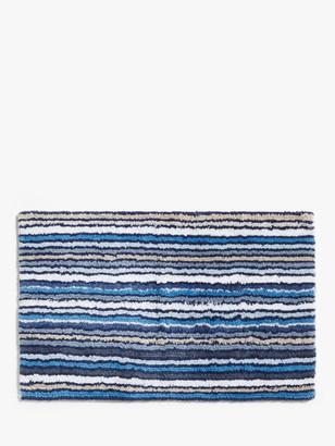 John Lewis & Partners Stripe Reversible Bath Mat