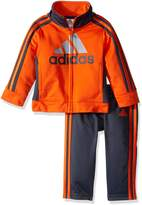 adidas Baby Boys' Tricot Jacket and Pant Set