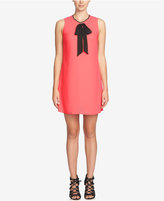 CeCe Rosie Tie-Neck Shift Dress