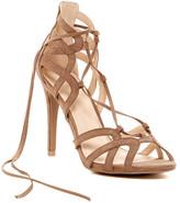 Legend Footwear Berlin Lace-Up Stiletto Sandal