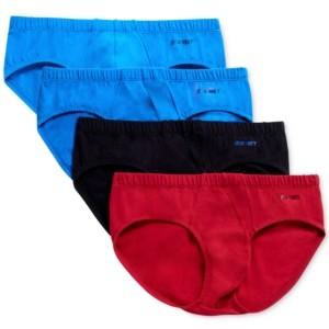2xist Men's 4 Pack Stretch Cotton Bikini Briefs