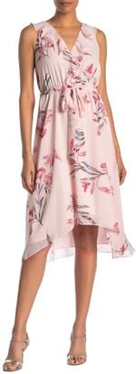 Rachel Roy Odele Floral Ruffle Dress