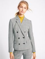 Marks and Spencer Checked Double Button Jacket