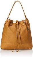 Lucky Brand Carly Leather Bucket Shoulder Handbag