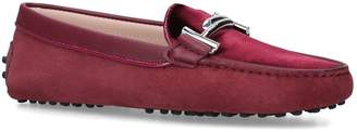 Tod's Suede Maxi Doppia Driving Shoes