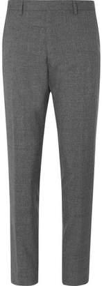 HUGO BOSS Grey Gains Slim-Fit Wool Trousers