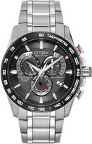 Citizen Eco-Drive Mens Stainless Steel Watch AT4008-51E