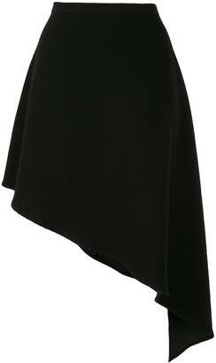 Strateas Carlucci Asymmetric Draped Skirt