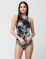 Full Tilt Tie Dye Womens Bodysuit