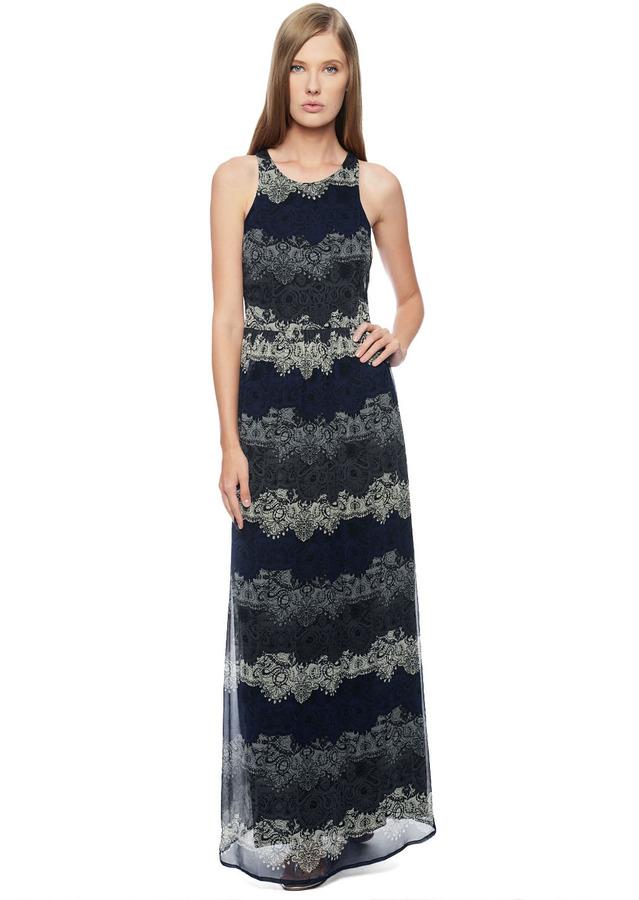 Ella Moss Felicity Silk Maxi Dress