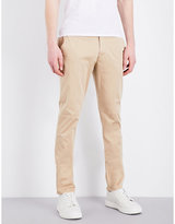 Armani Jeans Slim-fit Tapered Stretch-cotton Chinos