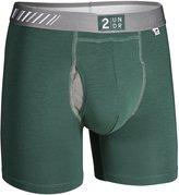 2Undr Men Underwear Swing Shift Boxer Briefs, 6 Inch