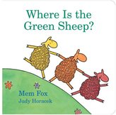 Harcourt Publishers Where Is the Green Sheep? (Board Book)