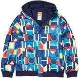 Tommy Hilfiger Adaptive Reversible Hooded Jacket (Little Kids/Big Kids) (Peacoat) Men's Clothing