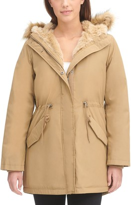 Levi's Women's Arctic Cloth Fishtail Parka Jacket