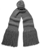 Lanvin - Fringed Wool Scarf