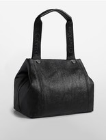 Calvin Klein Athletic Pebble Leather Tote Bag