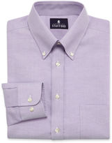 JCPenney Stafford Travel Wrinkle-Free Oxford Dress Shirt