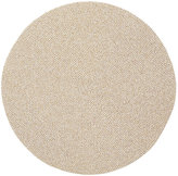 Deborah Rhodes Glimmering Braided Placemat-WHITE