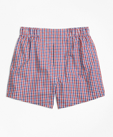 Brooks Brothers Micro Check Boxers