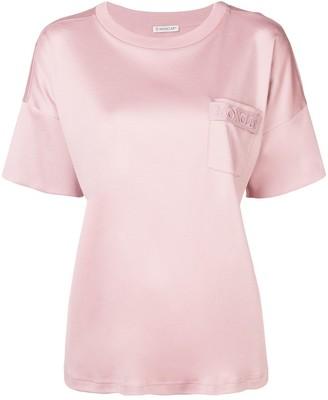 Moncler drawstring back pocket T-shirt