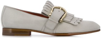 Santoni Heeled Loafers With Heel
